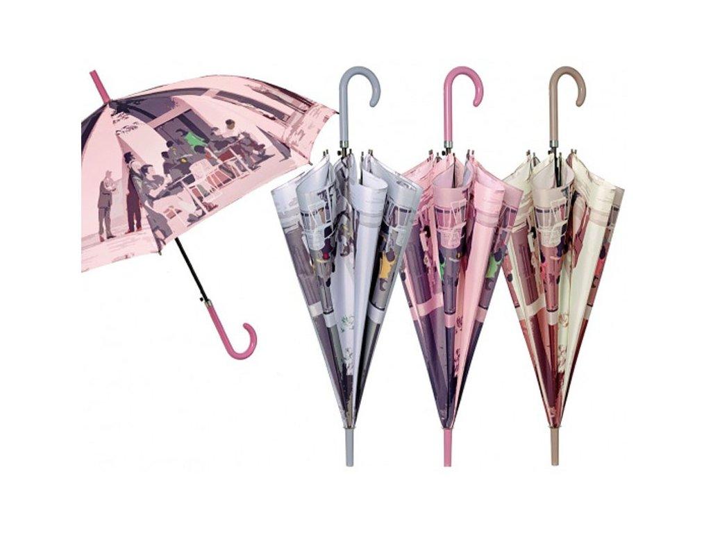 Dámský holový deštník CHIC Malba
