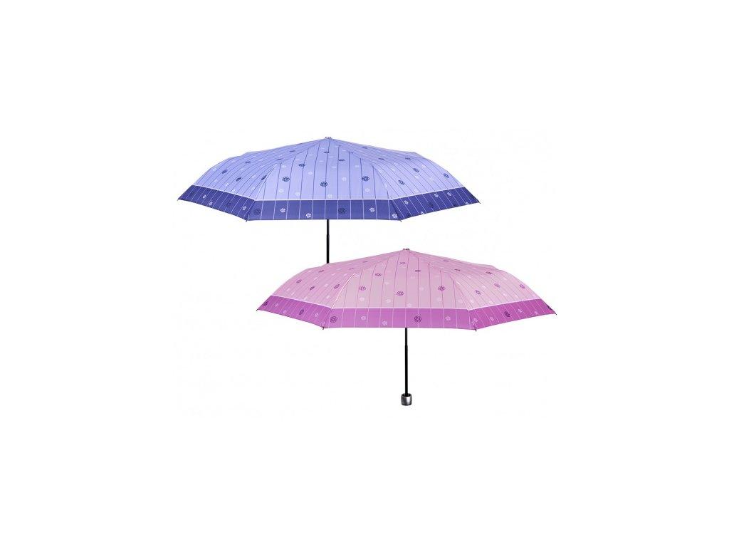 dámský skládací deštník  manuální