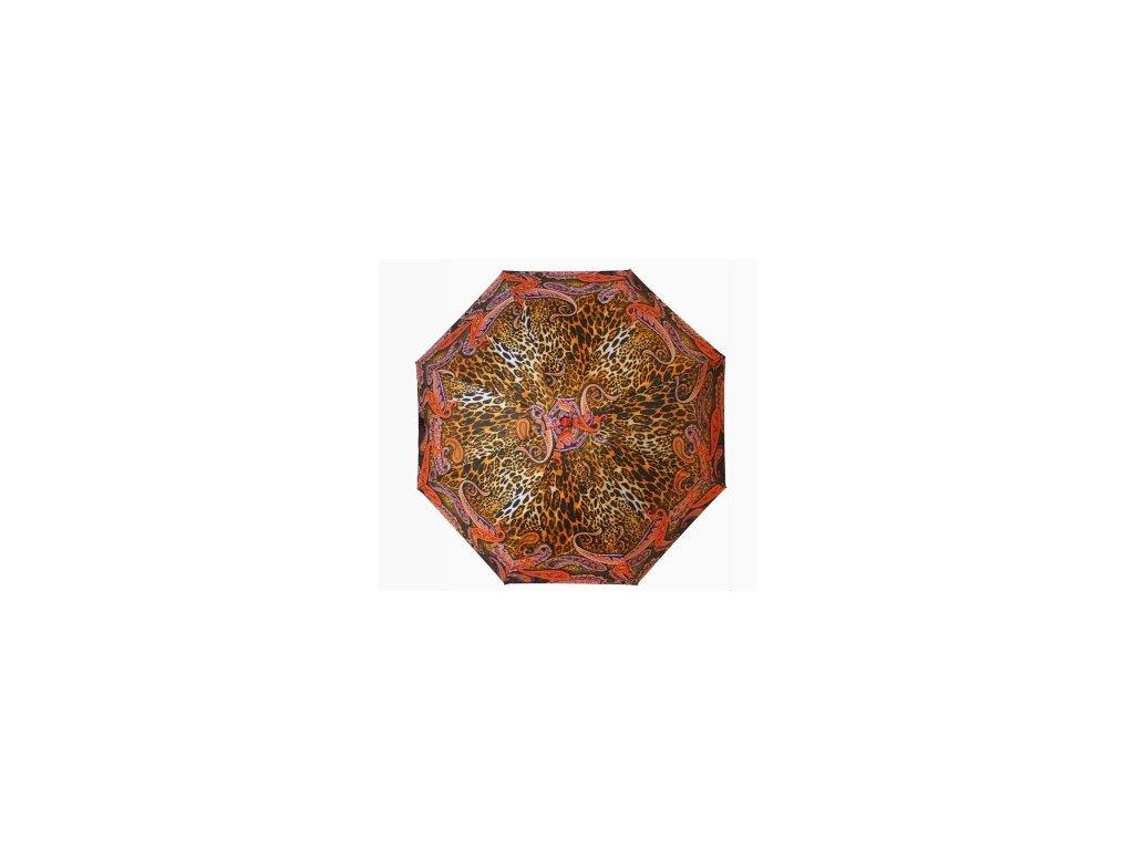 dámský mini skládací deštník Tygr