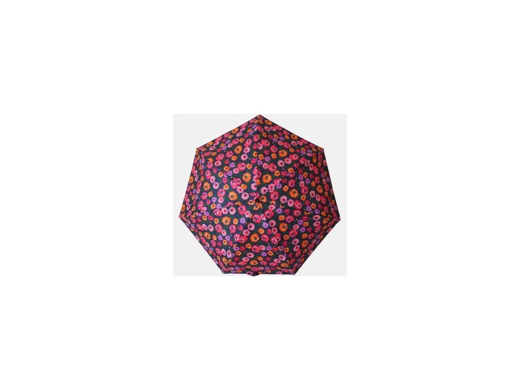 dámský mini skládací deštník Růžičky
