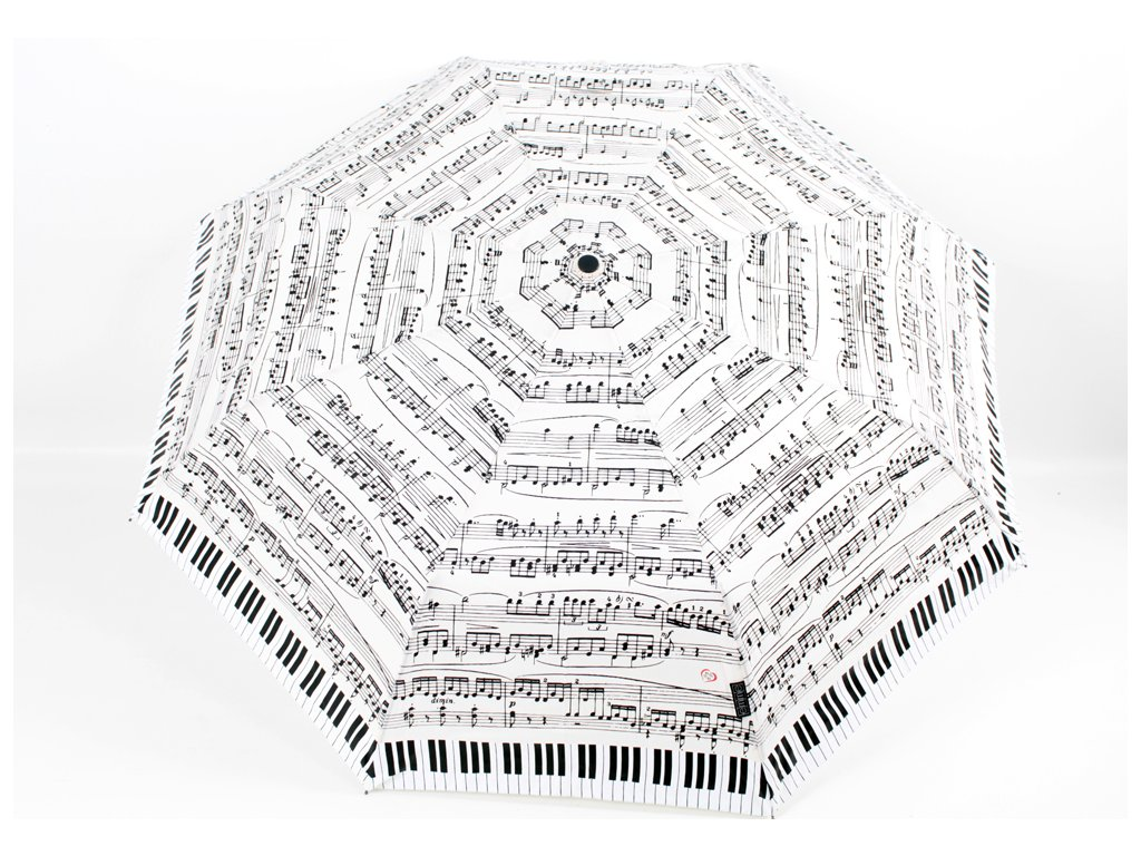 skládací deštník klavír morellini
