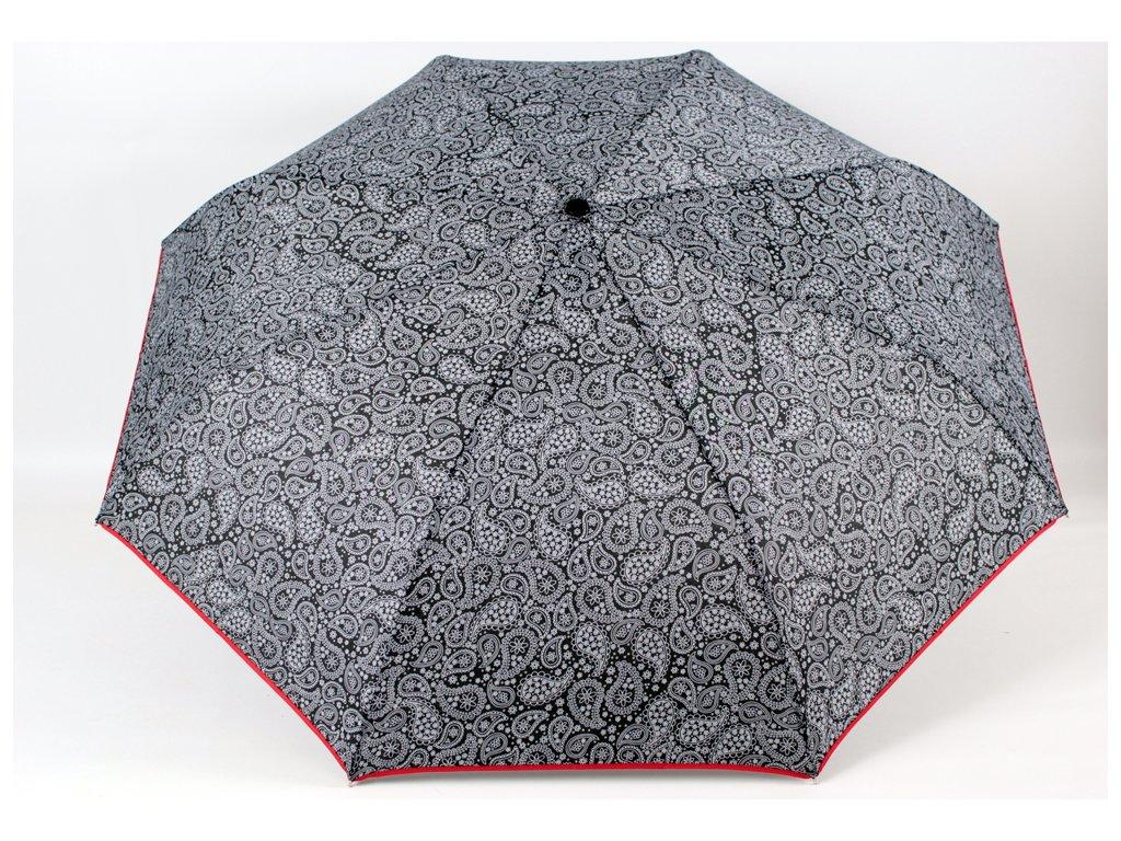 skládací vystřelovací deštník kašmír