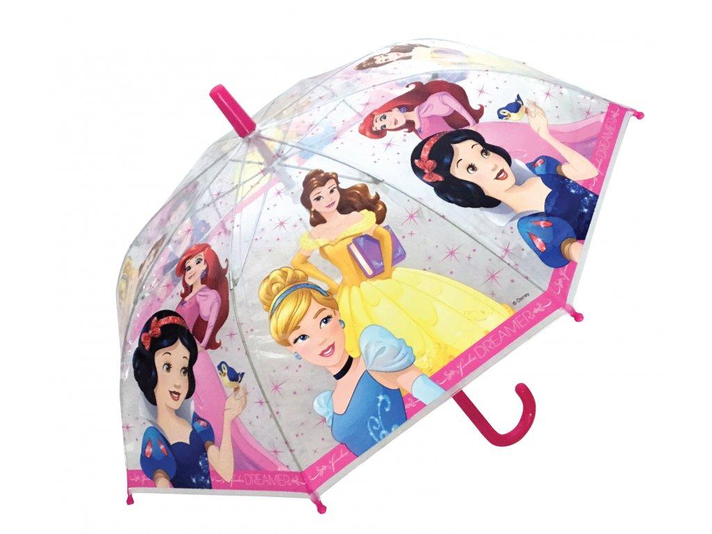 Dětský průhledný deštník Princezny malý
