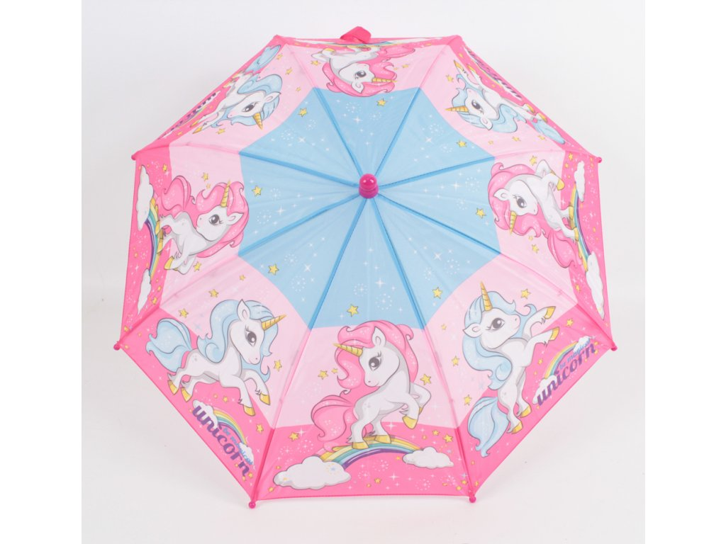 dětský deštník jednorožec malý