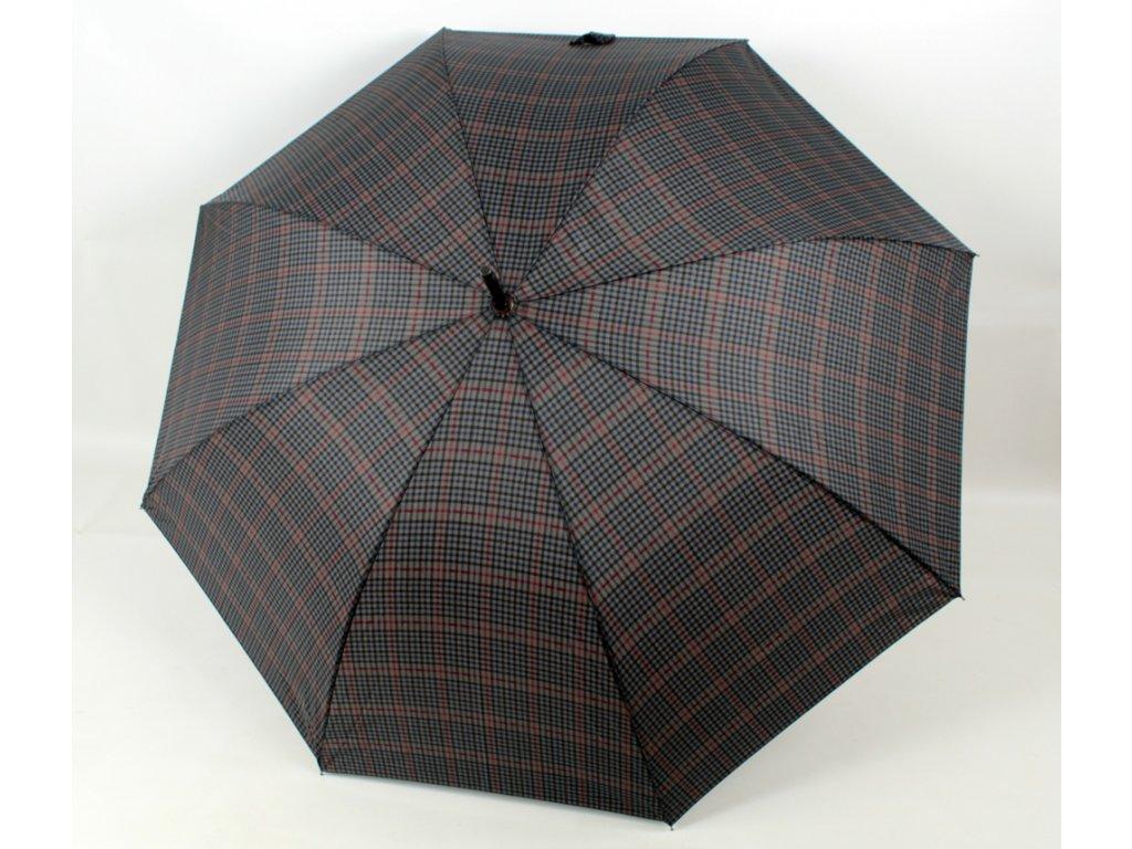 pansky holovy deštník vzor karo