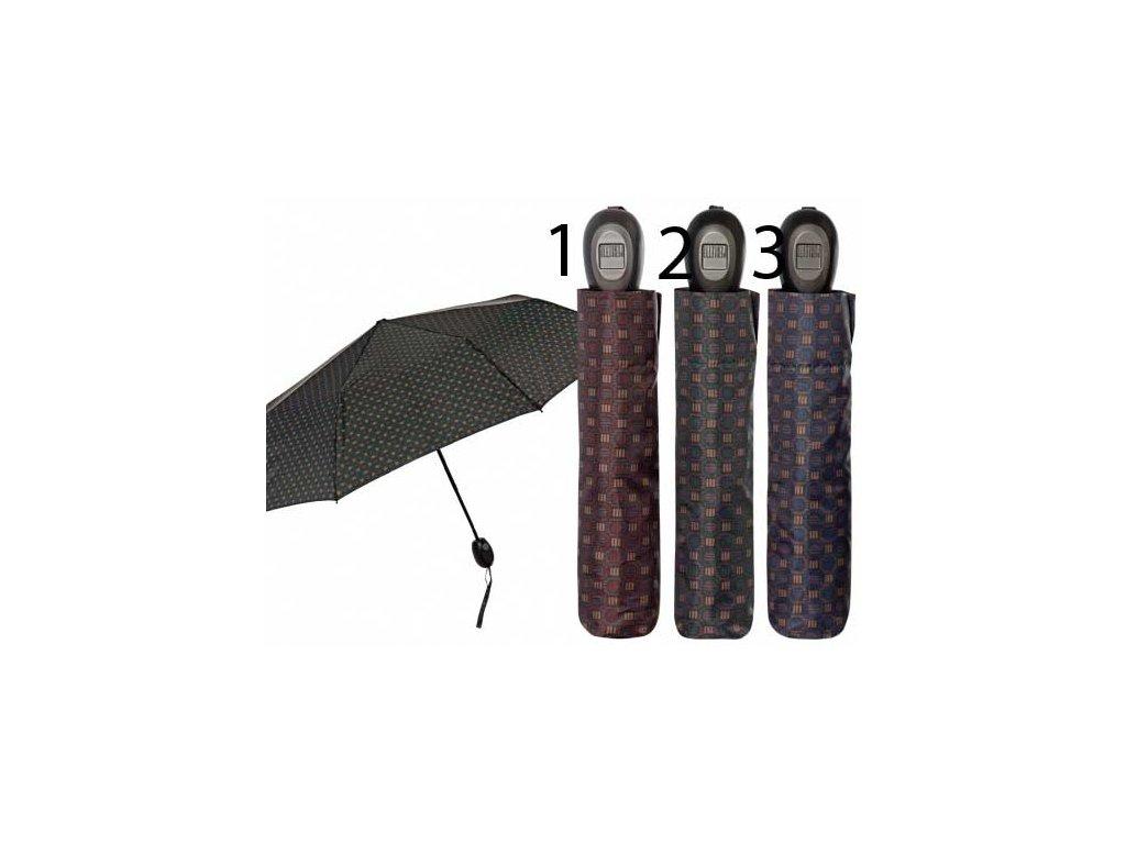 Pánský skládací vystřelovací deštník Perletti