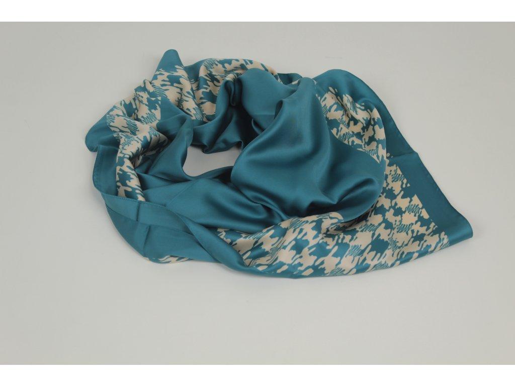 Dámský šátek 90x90 polyester Italy 1127