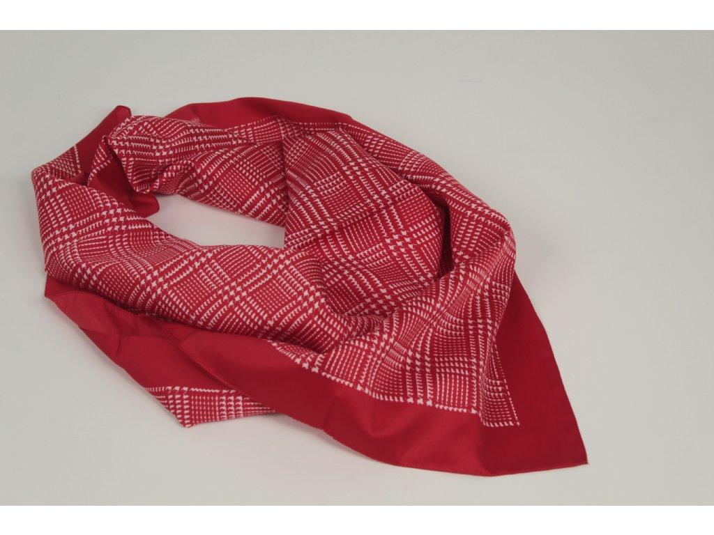 Dámský šátek 90x90 polyester Italy 1132