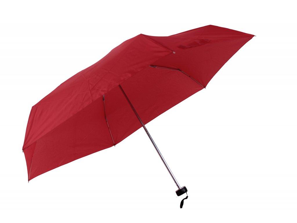 damsky-skladaci-destnik-mini--jednobarevny-cerveny