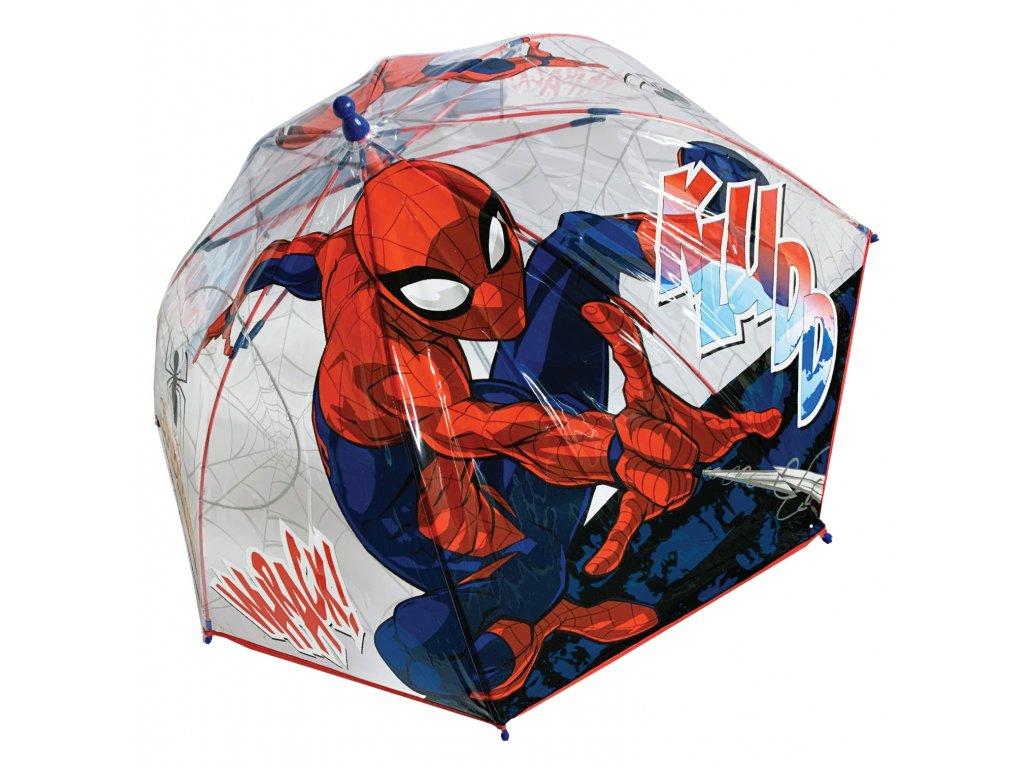 detsky-pruhledny-destnik-spiderman
