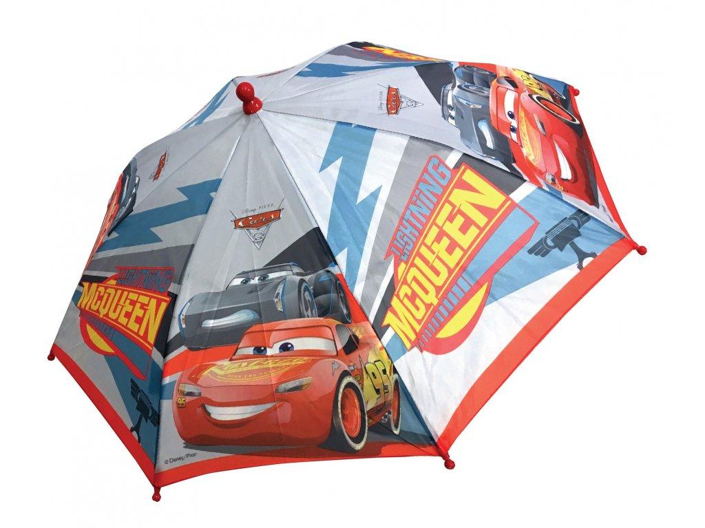 Dětský deštník Auta malý světlý