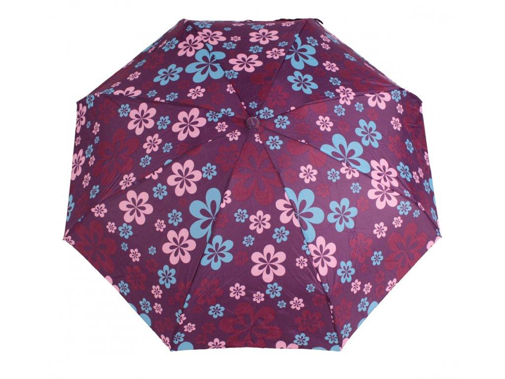 damsky-skladaci-destnik-mini-kvetiny-fialovy