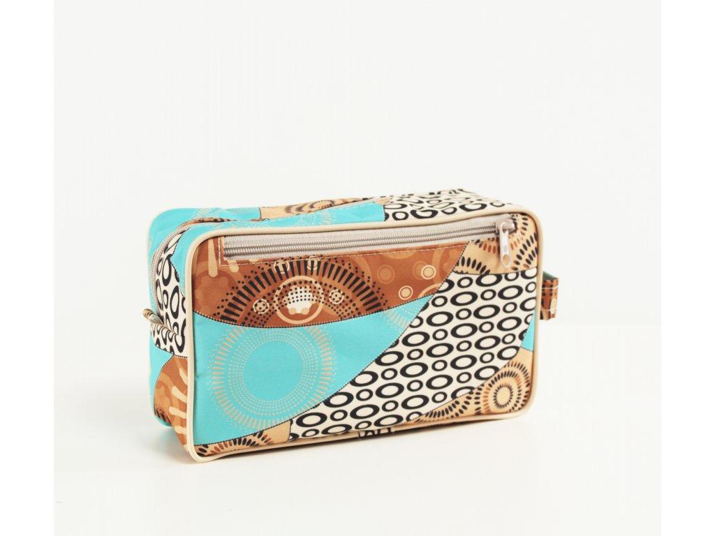 """Kosmetická taška Sincini- obdélník """"EGYPT"""""""
