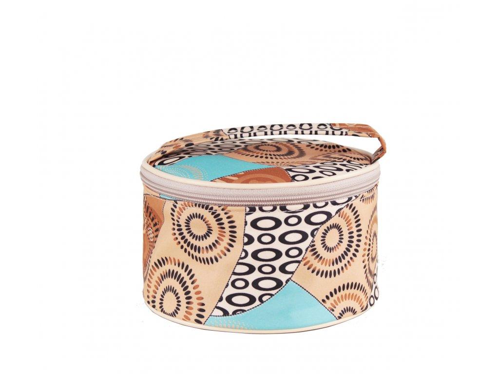 """Kosmetická taška Sincini-kruhová """"Egypt"""""""
