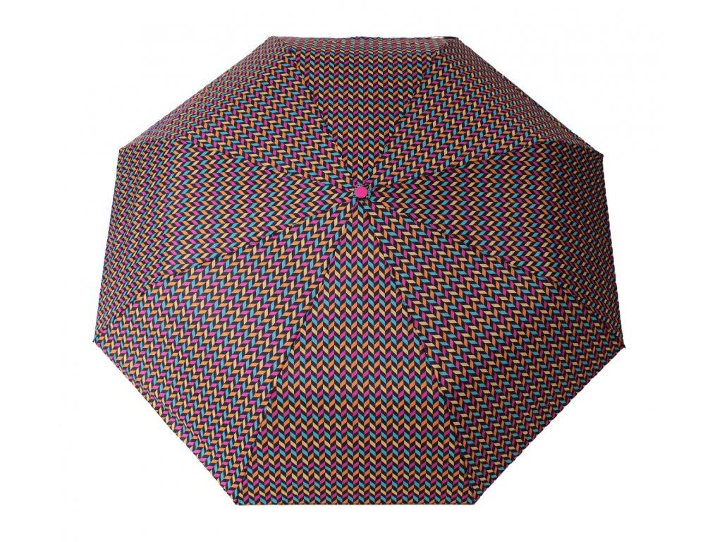 Skládací deštník ZIG ZAG barevný