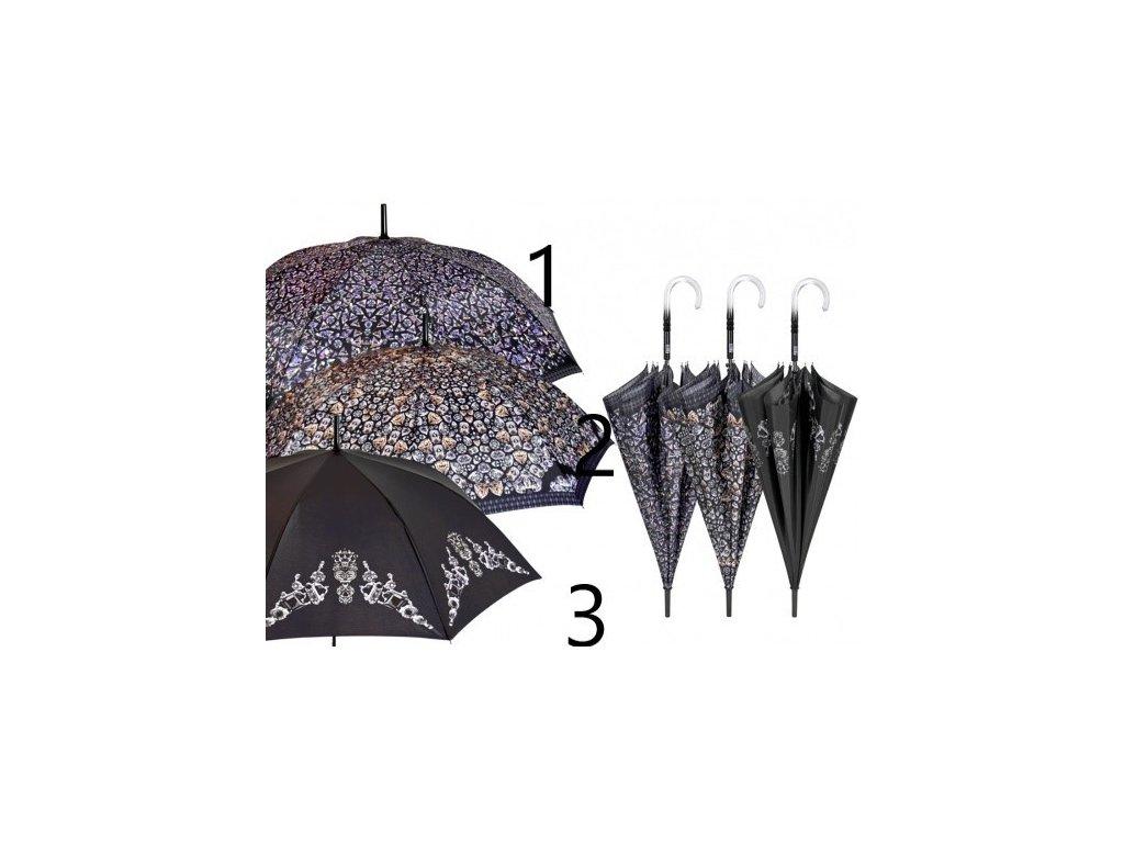 Dámský holový deštník Diamanty