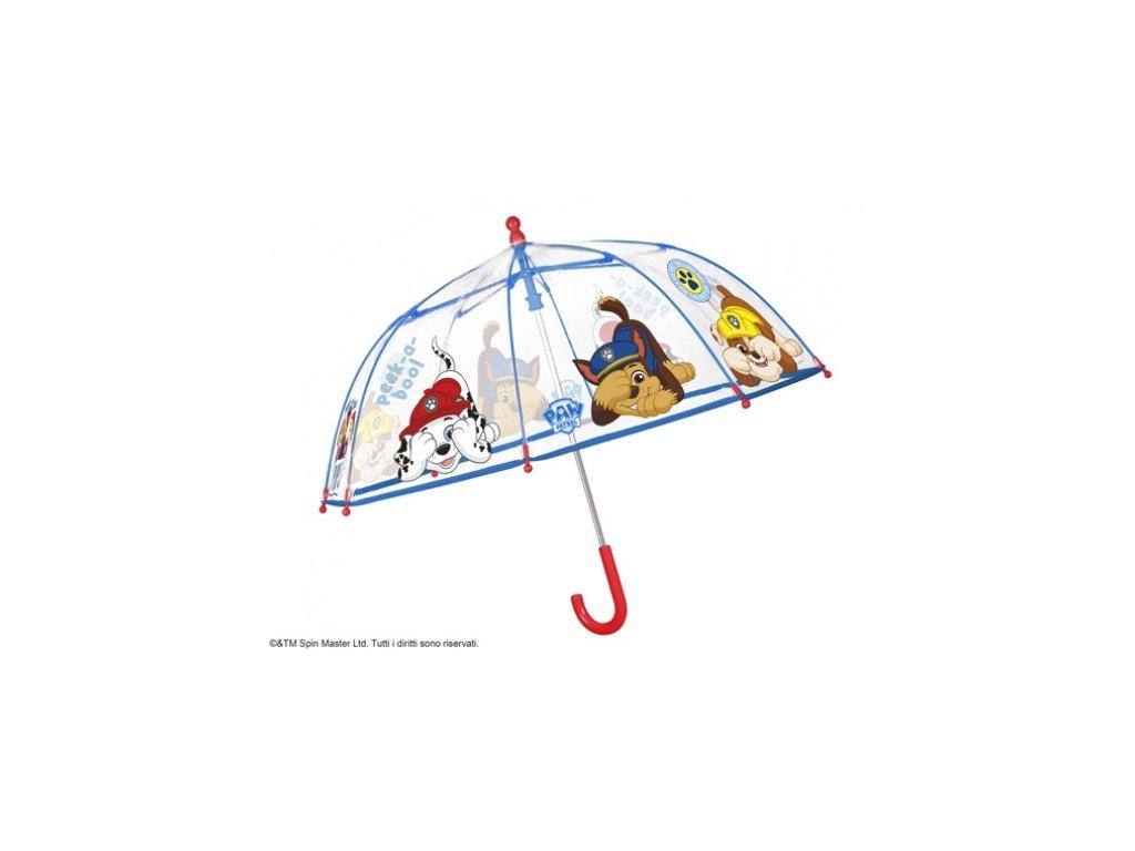 Dětský průhledný deštník PAW PATROL 3