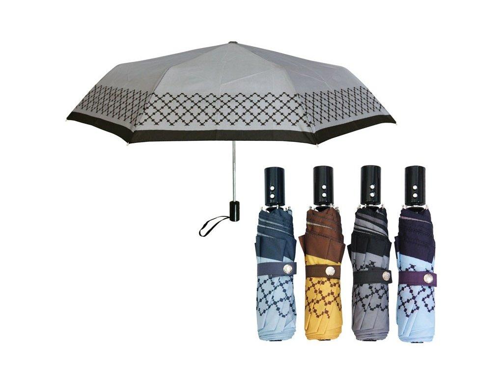 Luxusní dámský skládací plněautomatický deštník  VERSAGE