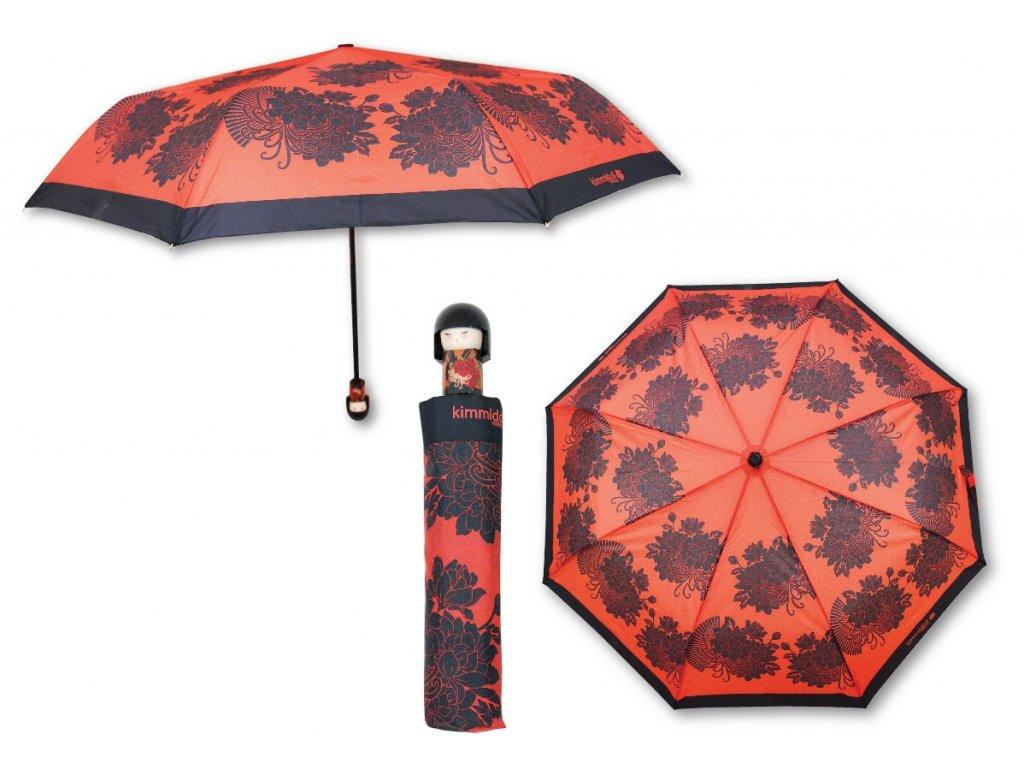 Luxusní skládací deštník s rukojetí v podobě panenky KIMMIDOLL 6