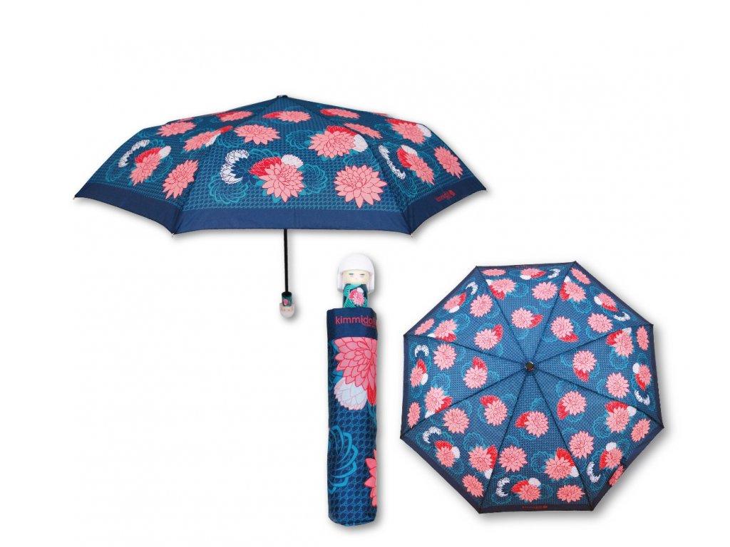 Luxusní skládací deštník s rukojetí v podobě panenky KIMMIDOLL 3