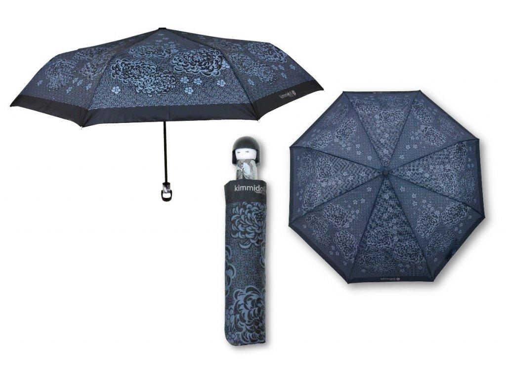 Luxusní skládací deštník s rukojetí v podobě panenky KIMMIDOLL 2
