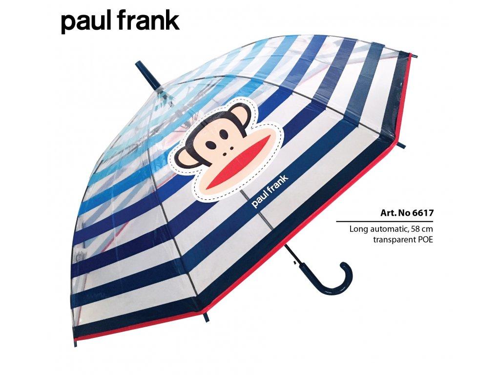 Průhledný deštník Paul Frank
