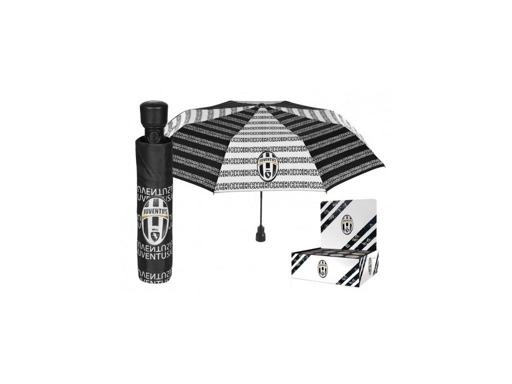 Skládací vystřelovací deštník JUVENTUS