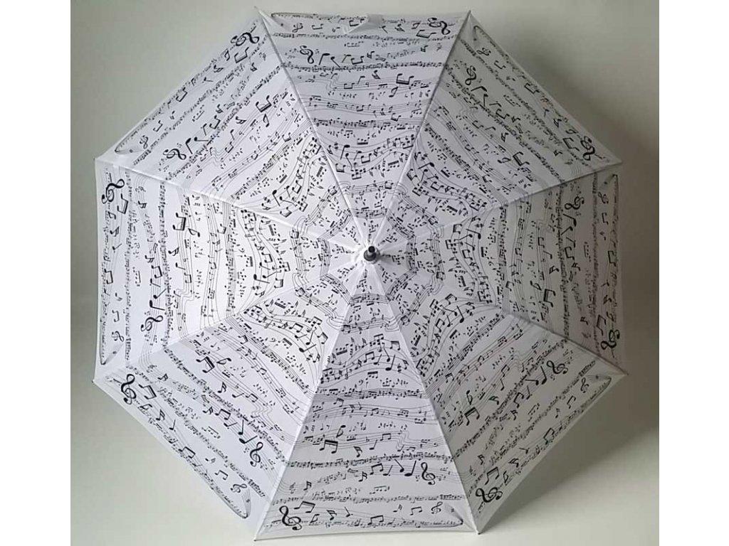 Dámský holový deštník NOTY bílé malé