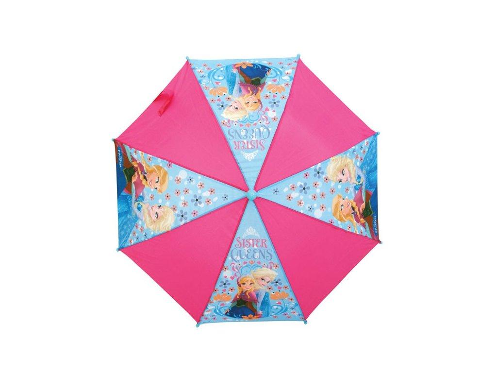 Dětský deštník Frozen,Ledové království růžový