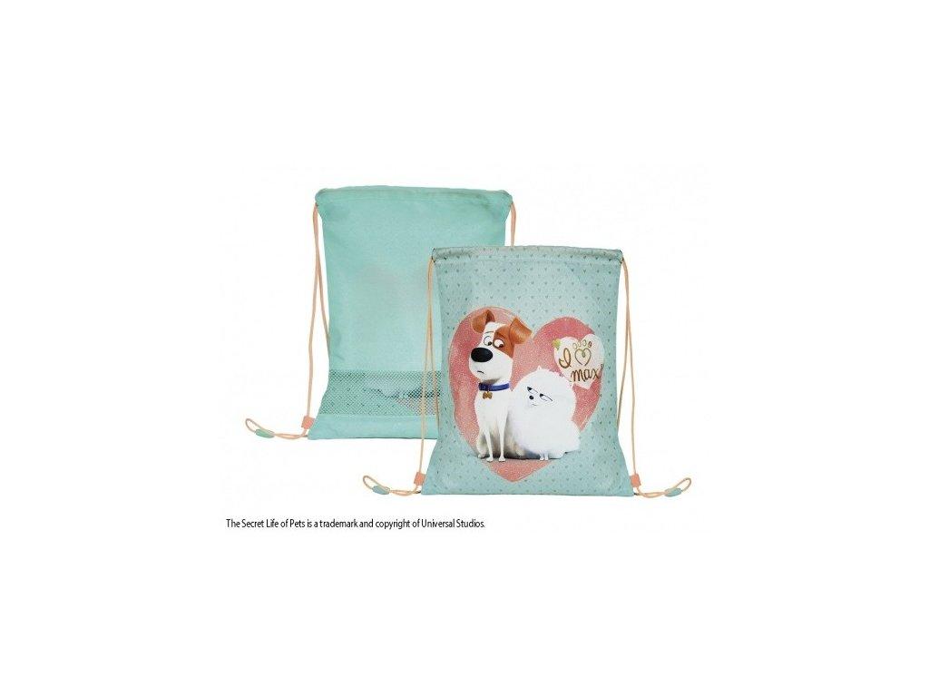 Vak na záda Tajný život mazlíčků od  fi Perletti 39x31cm