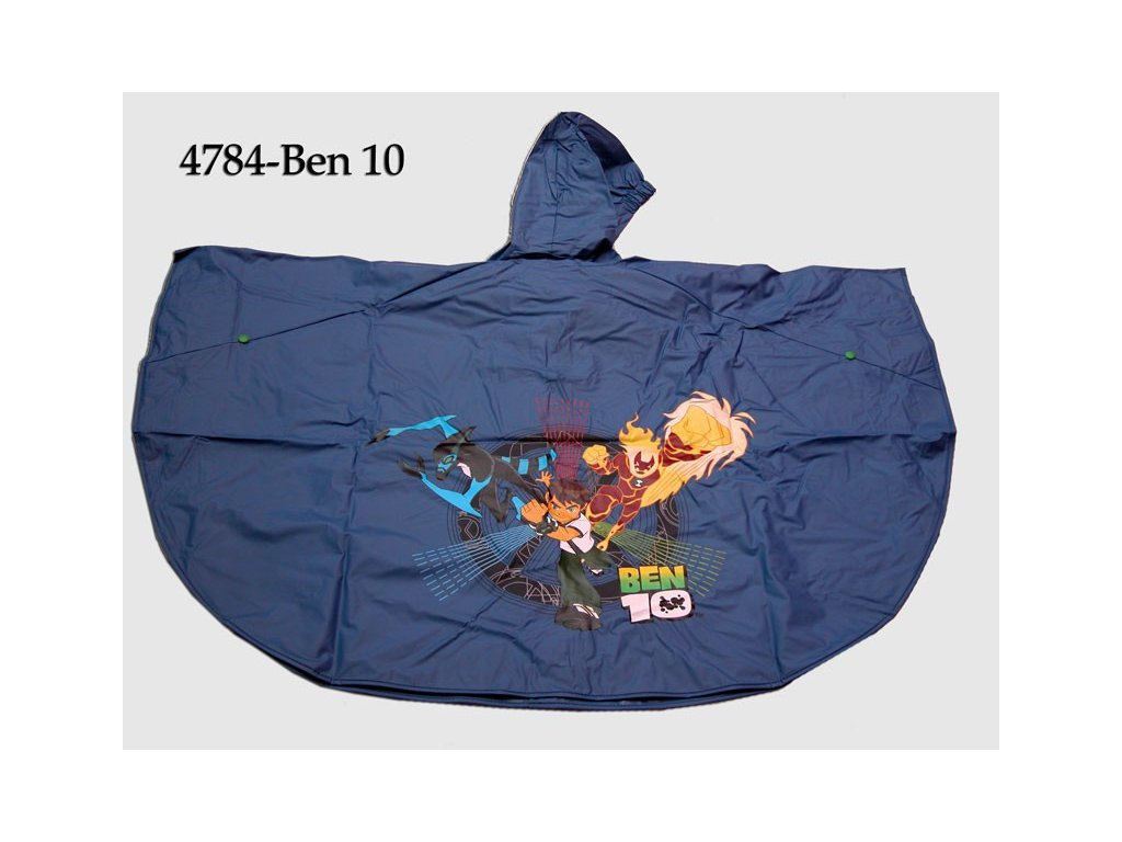 Dětské pláštěnka Ben 10, Chanos vel.98-104