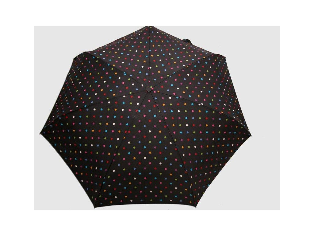 Dámský skládací deštník mini Lentilky kulatý