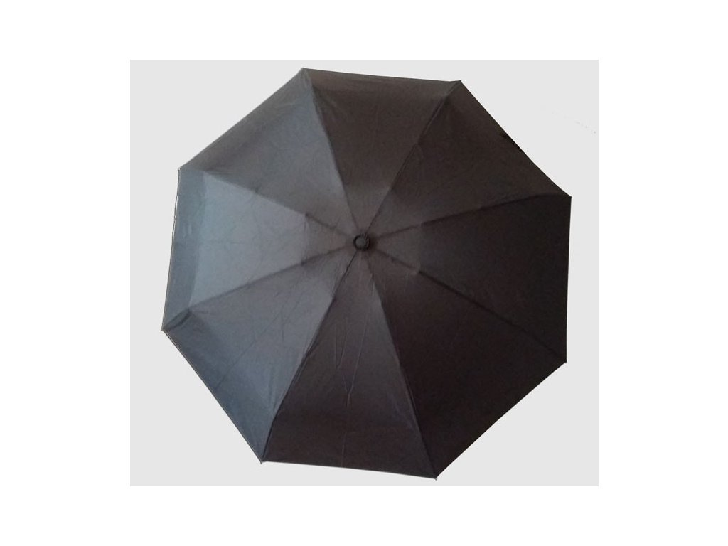 Skládací deštník mini Černý