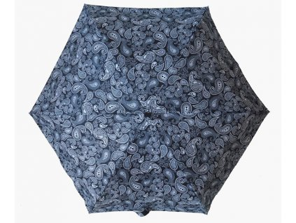 Dámský skládací deštník mini ČB Kašmír