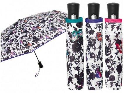 Skládací vystřelovací deštník Motýlci