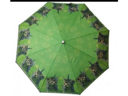 Skládací deštník Kočky1