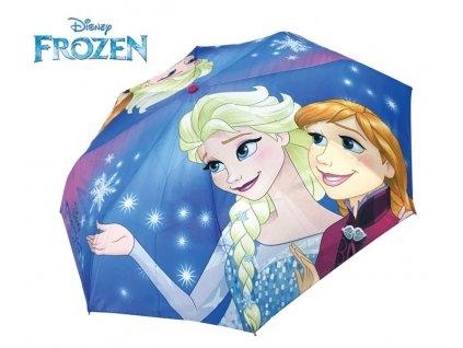 Dětský skládací deštník Ledové království Elsa Anna