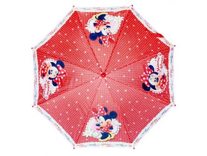 Dětský deštník Minnie červený velký