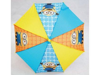 Dětský deštník Mimoni žlutý malý