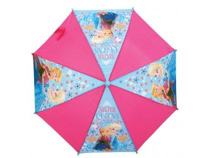Dětský deštník Ledové království růžové
