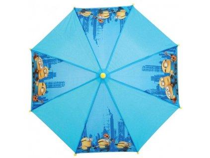 Dětský deštník Mimoni modrý malý