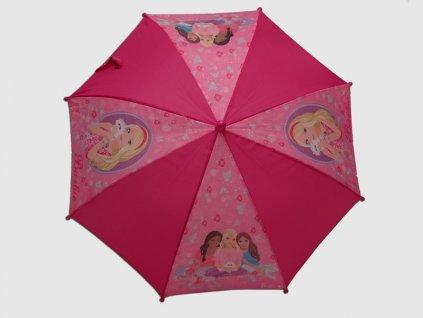 Dětský deštník Barbie Pets malý