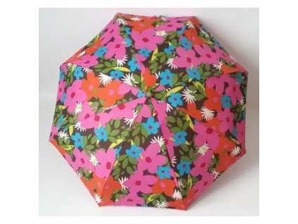dámský mini skládací deštník barevné květiny