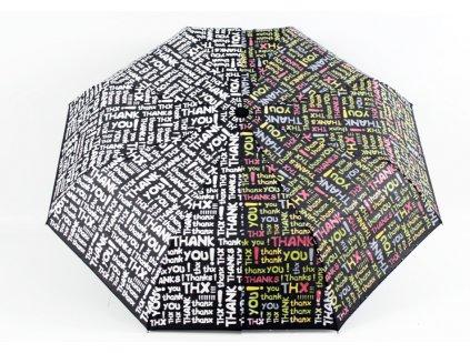 deštník měnící barvu Thank you 4