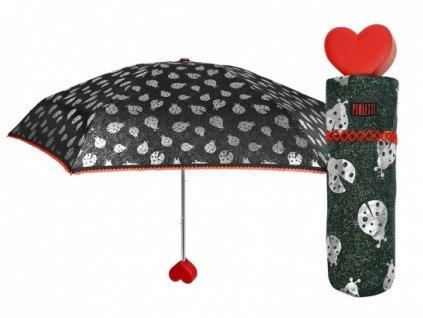 Dámský skládací deštník mini Berušky