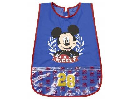 dětska zasterka na malovani Mickey