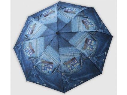 Skládací vystřelovací deštník riflový Mobil
