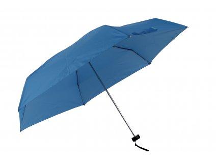 damsky-skladaci-destnik-mini--jednobarevny-modry