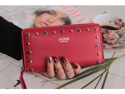 Dámská kožená peněženka Borchie červená