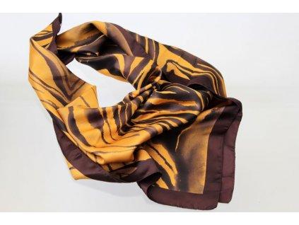 Dámský šátek 90x90 polyester Italy 1123